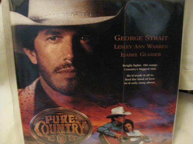 LaserDisc - PURE COUNTRY