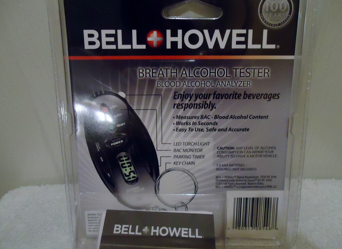 Bell & Howell Digital Breathalyzer