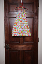 Child/Youth Lined Cotton Apron w/pockets (Cupcakes & Sprinkles) Child Sm (2T-4T) - $12.99