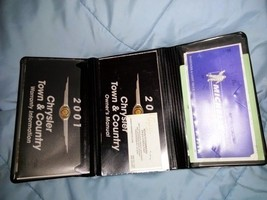 2001 01 Chrysler Town And & Country Owner's Manual Complete Book Set - $28.04
