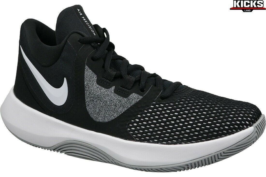 Primary image for New Nike Air Precision II Black White AA7069-001 Basketball Shoes Men's Size 11