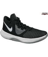 New Nike Air Precision II Black White AA7069-001 Basketball Shoes Men's Size 11 - $65.00