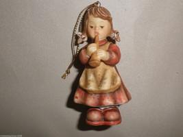 Goebel Berta Hummel Girl With Recorder Nativity Ornament #935090 - $11.88