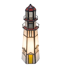 "9""H The Lighthouse on Marble Head Accent Lamp - $192.00"