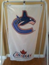 Large Vancouver Canucks Promo Flag - Original Whale Logo - Molson Canadian Spons - $55.00