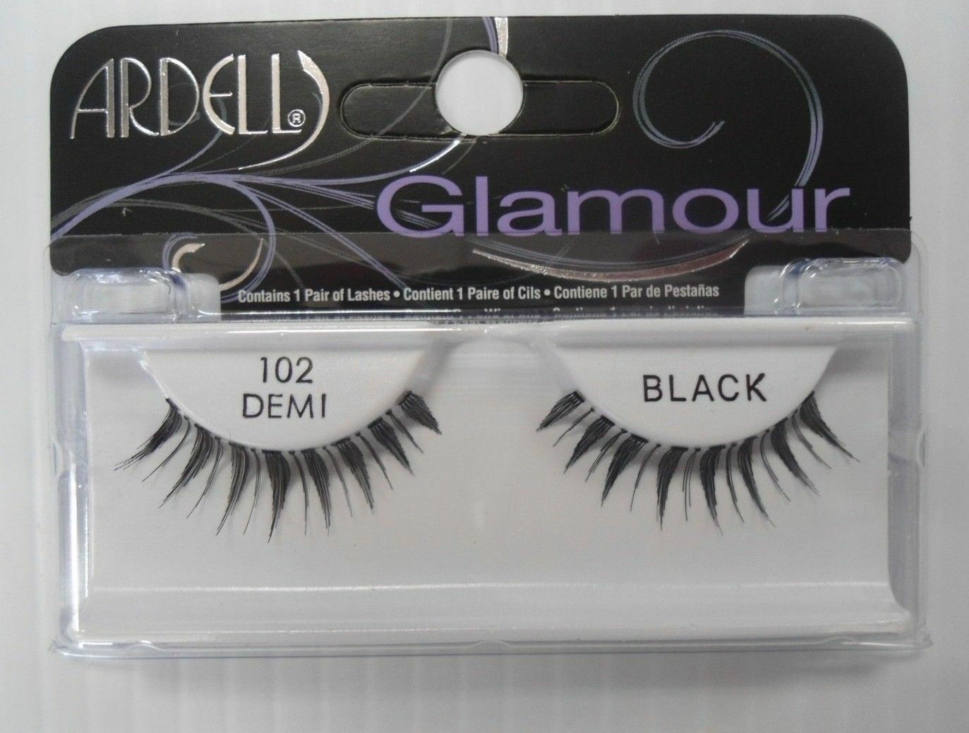 Primary image for Ardell Strip Lashes Natural Style 102 Demi Black (Pack of 6)