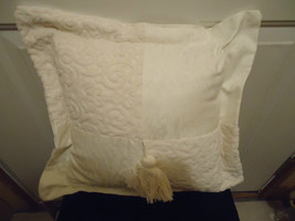 Cotton for Living Home Decor Creamed White Pillow - $9.99