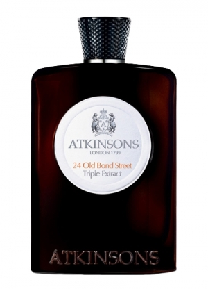 24 Old Bond Street by ATKINSONS 5ml Travel Spray Perfume TRIPLE EXTRACT WHISKEY
