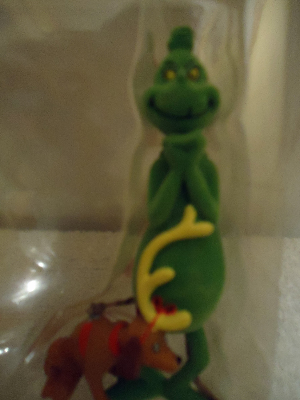 Dr Suess The Grinch & Cindy Lou Ornaments