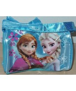 Disney Frozen Elsa and Anna Embellished Girls Handbag Blue Pretend Play NEW - $19.99