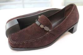 Stuart Weitzman Size 7 1/2 M Brown Ventilated Suede Flex Rubber Soles Shoes - $22.77
