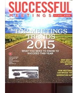 SUCCESSFUL MEETINGS JANUARY 2015 /GOLF & SPA OPTIONS /TOP TRENDS /LOCATI... - $20.58