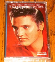 ELVIS THE NUMBER ONE HITS ORIGINAL CASSETTE SEALED!  1988 - $74.25