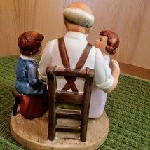 Vintage 1980 Norman Rockwell Toy Maker Figurine Collector's Club  image 3