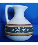 Beautiful Native American UTE MOUNTAIN GLAZED POTTERY PITCHER Signed MAX... - $40.00