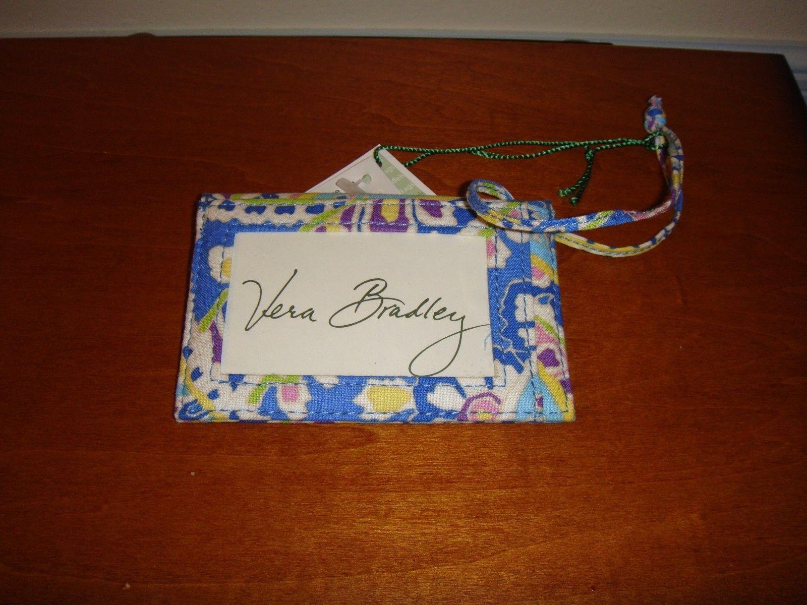 Vera Bradley Capri Blue Luggage Tag image 2
