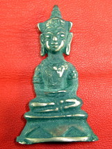 Very Rare! Ancient Phra Chai Ayuttaya 300 Year Thai Buddha Amulet  Only One Left - $19.99