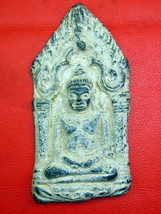 Very Rare! Holy Ancient Phra Kru-Boran Thai Buddha Amulets Only One Left - $19.99
