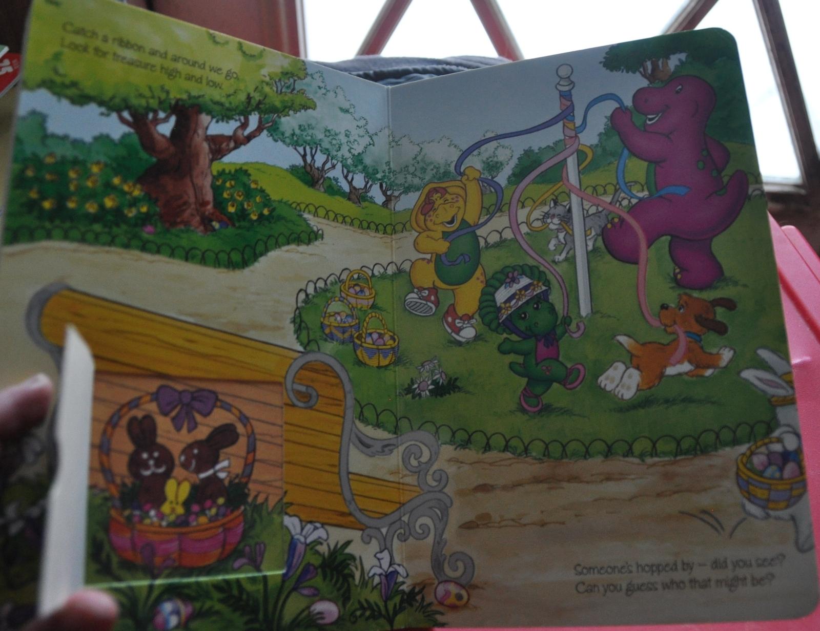 Board Book Barney The Purple Dinosaur Barney S Easter
