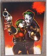 DC Harley Quinn & Joker Glossy Print 11 x 17 In... - $24.99