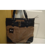 R&J Clay/Navy Large Hobo Woman's  Purse by Romeo& Juliet Couture - $109.99