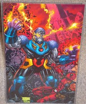 DC Darkseid vs Marvel Deadpool Glossy Print 11 x 17 In Hard Plastic Sleeve - $24.99