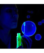 1oz Bottle BLUE Blacklight Reactive Tekno Bubbles - $5.95