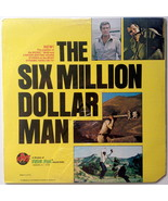The Six Million Dollar Man SEALED LP Vinyl Record Album, Power Records, ... - £31.26 GBP