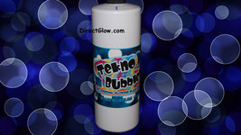 32oz BLUE UV Reactive Tekno Bubbles with Free Bubbles Wands and UV Marker - $21.95