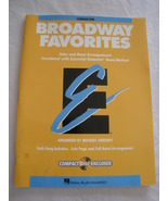 Broadway Favorites - Conductor's Book - arr Sweeney - $6.00