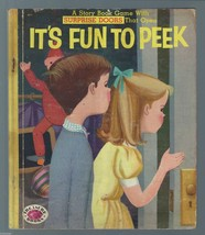 It's Fun to Peek:A Story Book Game With Surprise Doors That Open-Jean Ho... - $9.97
