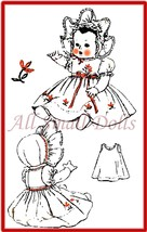 "Vintage Pattern for 20"" Baby Doll Clothing - $7.99"