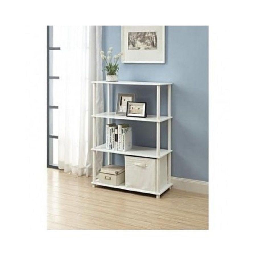 Bookcase Shelf Organizer Cube Storage Laundry Room