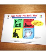 Four Blocks plan book plus literacy model grade 1 2 3 Cunningham Kohfeldt - $6.99