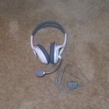 Microsoft XBOX 360 Headset w/ Microphone, White - $11.95