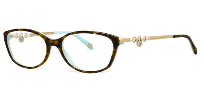 Tiffany Glasses Frames New York : New Authentic Tiffany & Co. TF2063 8134 Tortoise Blue ...