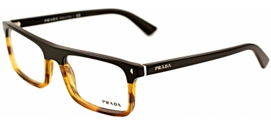 4b8818ada40 List tfj101 black brown copy. List tfj101 black brown copy. New Authentic Prada  PR 02RV PR02RV TFJ101 Black Tortoise Eyeglass Frame 54mm
