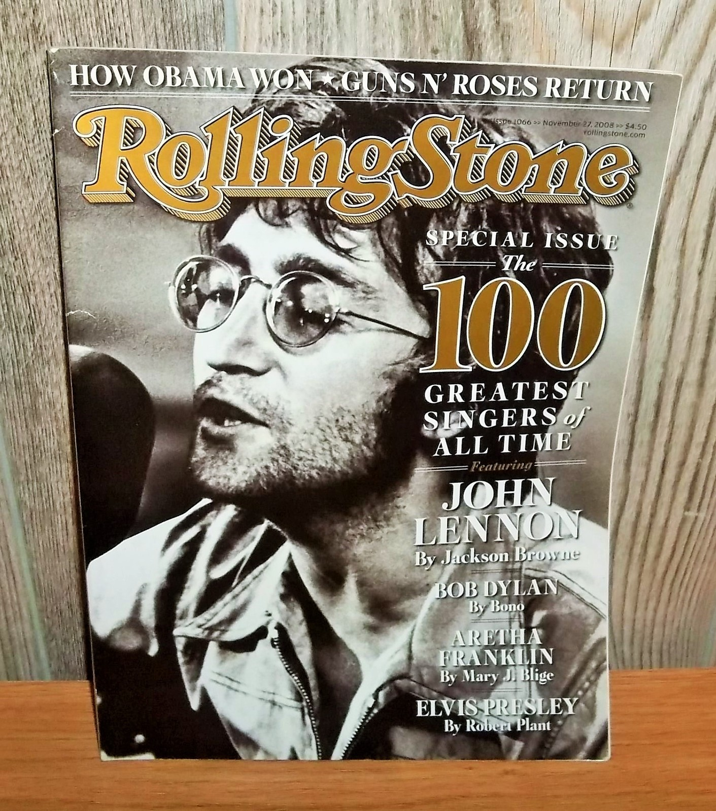 Rolling Stone Issue 1066 November 27 2008 The 100 Greatest