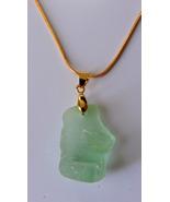 Coke Bottle Green Sea Glass Necklace #6 - $16.00