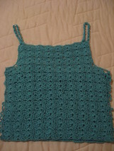 Crocheted Halter Top  - $6.99