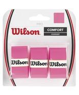 Wilson - WRZ4014PK - Tennis Racquet Pro Over Grip - Pink - Pack of 3 - $9.85