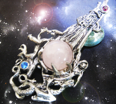 HAUNTED NECKLACE WIZARD'S MAGNET OF MIRACLES FAST CHANGES HIGHEST LIGHT ... - $10,733.77