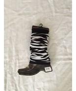 WJNS Leg Warmers Black/White - $5.99