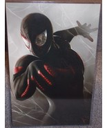 Spider-Man Miles Morales Glossy Print 11 x 17 In Hard Plastic Sleeve - $24.99