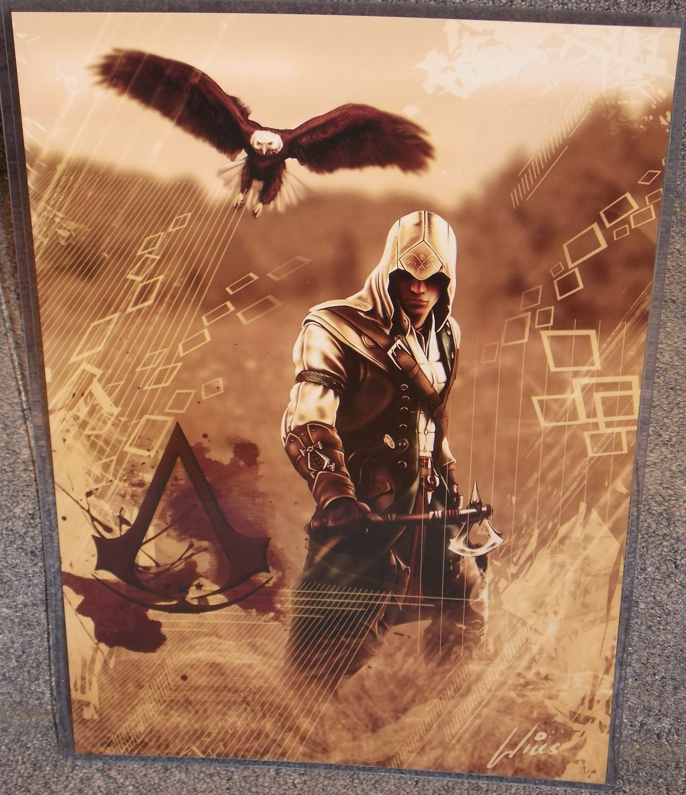 Primary image for Assassins Creed Glossy Print 11 x 17 In Hard Plastic Sleeve