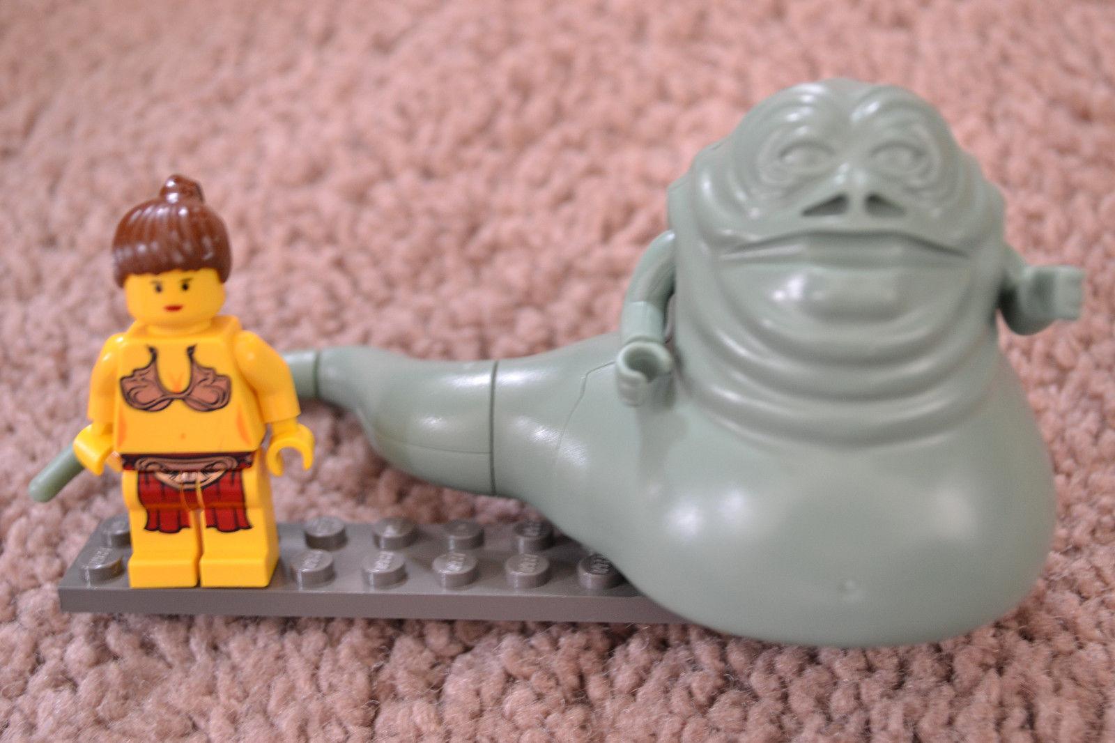 LEGO STAR WARS JABBA THE HUTT, SLAVE PRINCESS LEIA Lego MINI FIGS