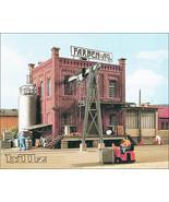 KIBRI HO 9786 - Small Factory Building with Crane - KIT - $114.50