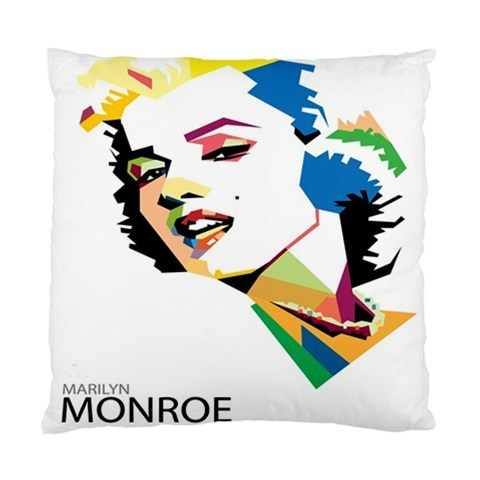 Marilyn Monroe Cushion Case Throw Pillow Cover Case (Two Sides)-02