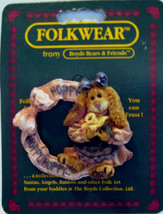 "Boyds FolkWear ""Flora.. Hoppy Spring""  Resin FolkArt Pin~#26418- 2001- Retired - $8.99"