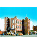 KIBRI HO 9788 - Large Factory Building - KIT - $129.50